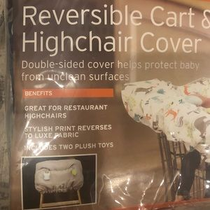 Other - Eddie Bauer reversible cart and high chair cover